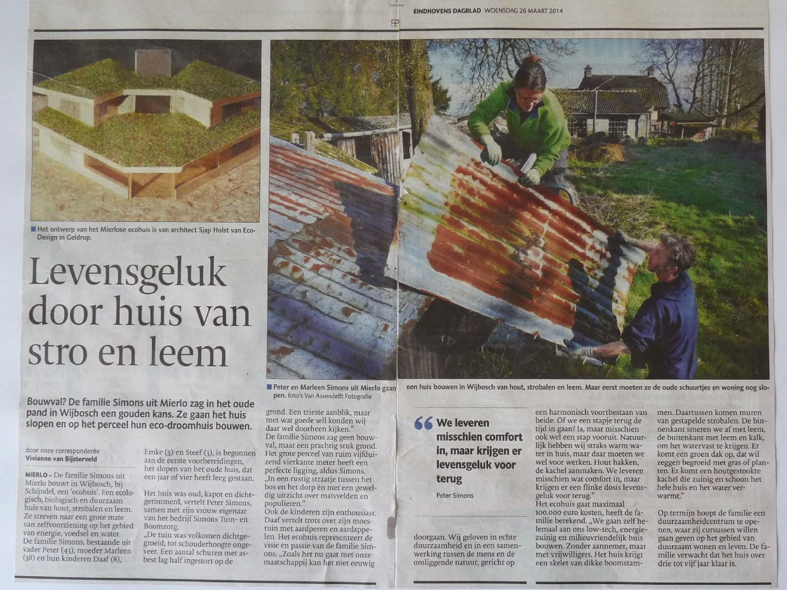 Artikel Eindhoven Dagblad