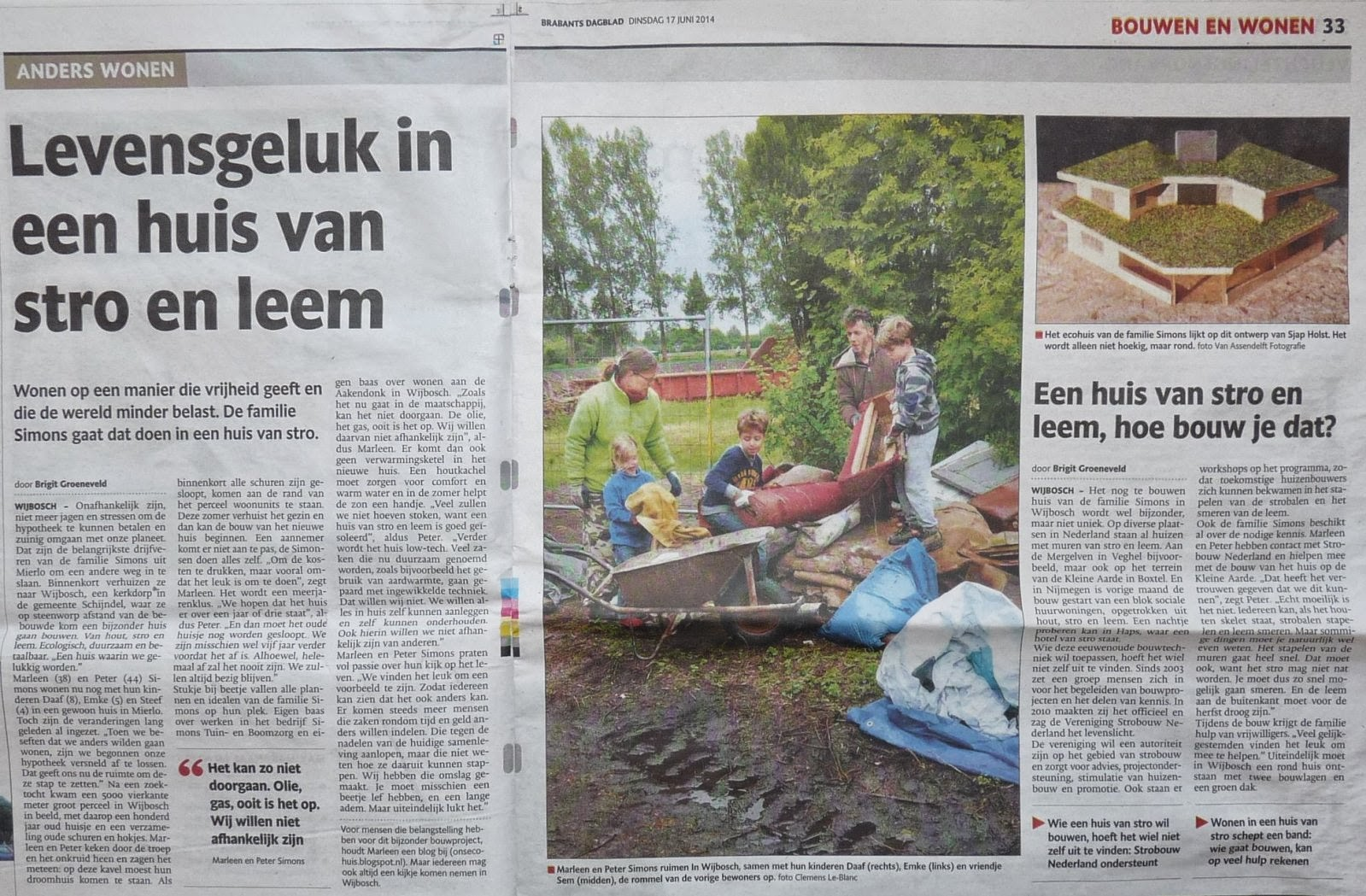 Artikel Brabants Dagblad