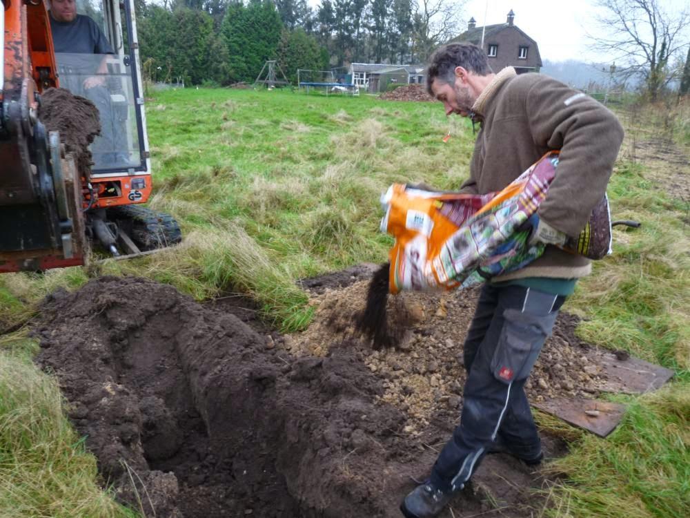 Boomgaten graven